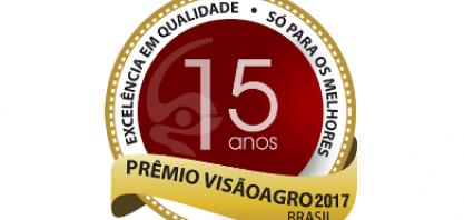 Prêmio VisãoAgro chega à 15ª Edição em 2017