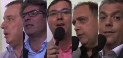 Brasilagro 407 - Flávio Castelar, Maurício Gasparini, Aparecido Luiz, Celso Albano e Paulo Montaboni
