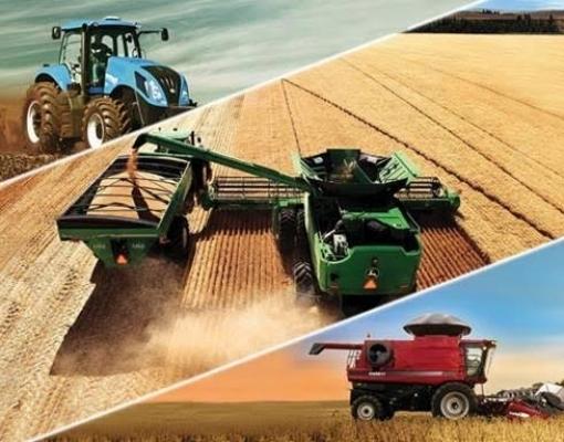 Exportações de máquinas agrícolas sobem 49% no ano
